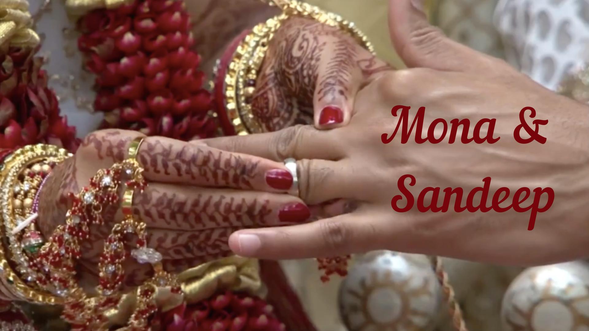 Mona and Sandeep Indian Wedding